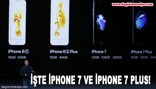İŞTE İPHONE 7 VE İPHONE 7 PLUS!