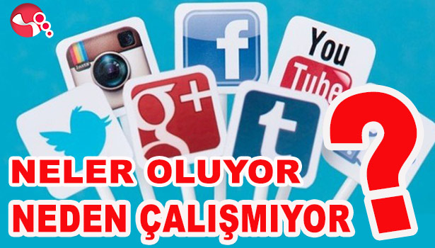 WHATSAPP, TWİTTER, YOUTUBE VE FACEBOOK'A ERİŞİM  YOK...