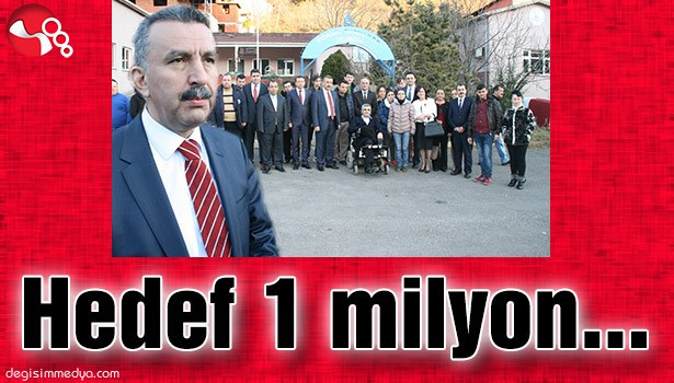 HEDEF  1 MİLYON...